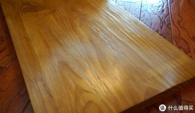 355元厚5cm抓粗榆木桌面了解一下?另附桌面好物推荐