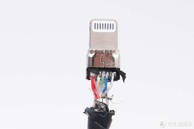 拆解报告:SSK飚王USB-C to Lightning快充编织线IC100