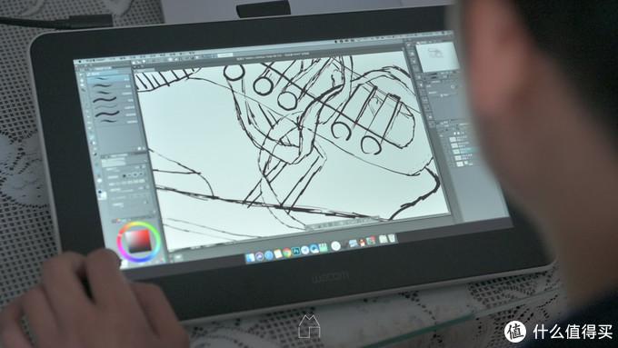 视频评测|大厂平价数位屏新纪元——3k出头的wacom one表现如何?横评+人像修图+绘画体验