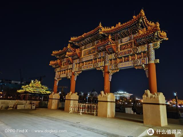 "OPPO Find X夜拍体验:北京的夜""静悄悄"""