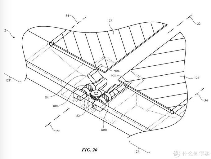 苹果新专利曝光,可折叠设备,可防止显示屏折痕