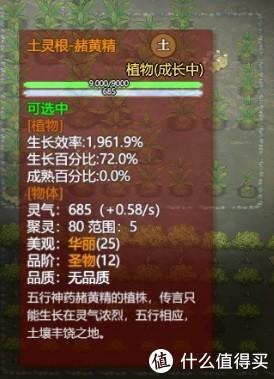 种植的土灵根-赭黄精,生长效率超高