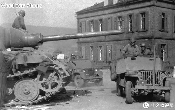 331号猎虎被美军缴获时的场景