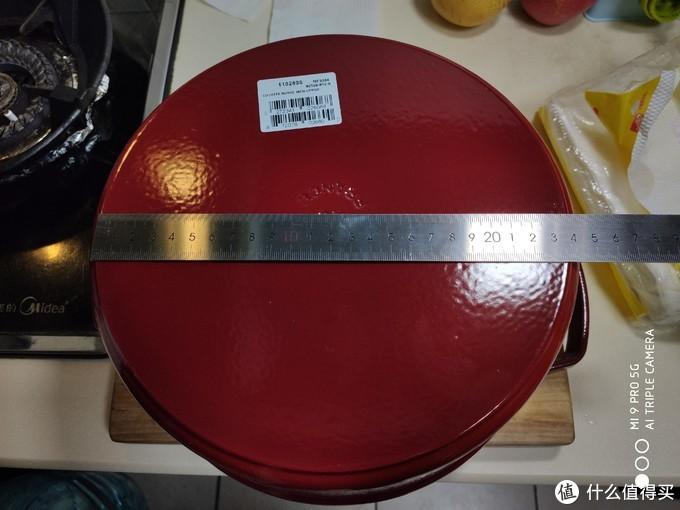 好事成双,时隔两个月后再次入手28cm STAUB珐琅铸铁锅