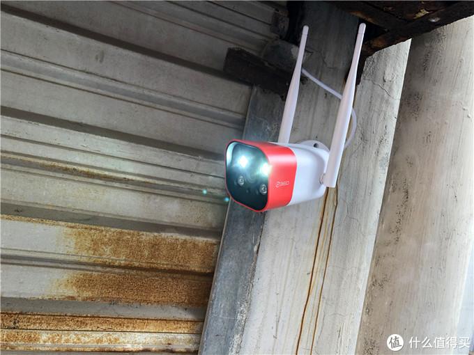 风雨无阻 用心守护-360智能摄像机红色警戒标准版