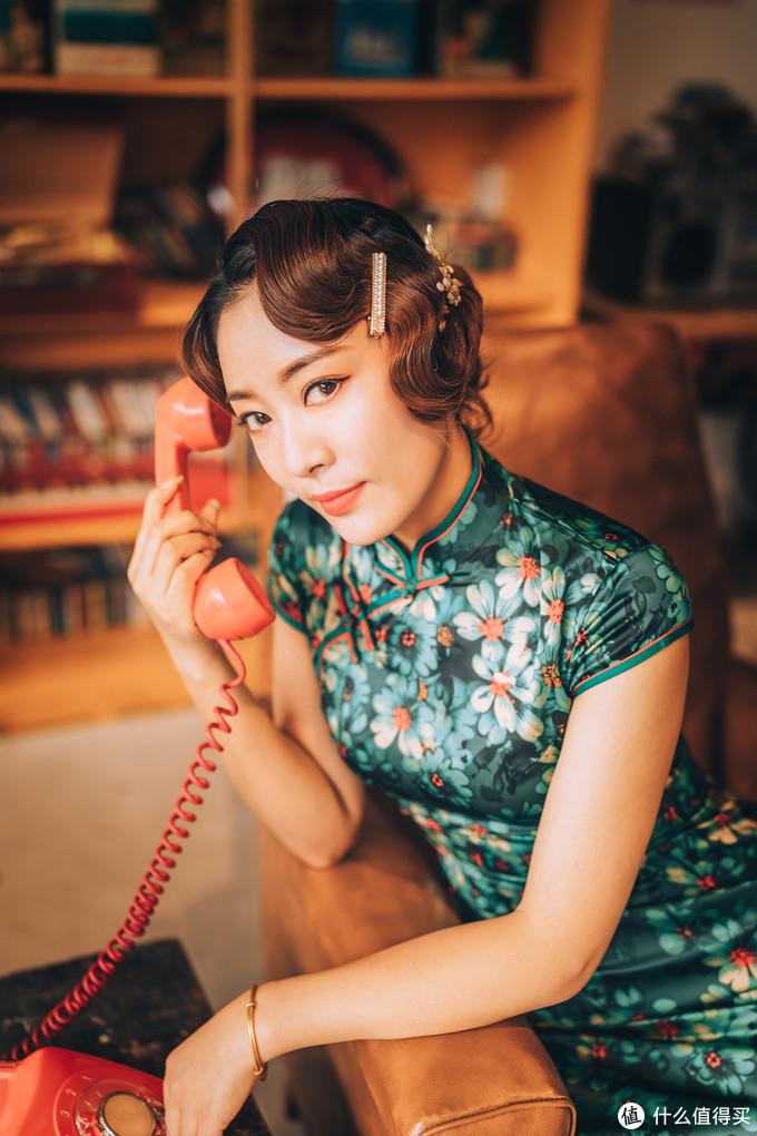 野路子玩摄影:你那件碎花旗袍,让我多年后都无法忘掉