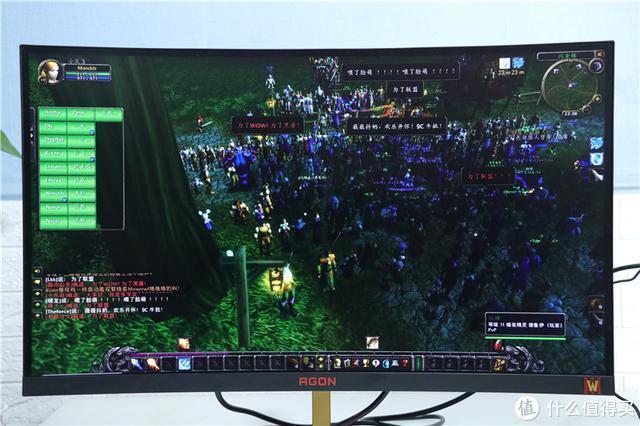 信仰加成100%,一键WC3!AGON爱攻魔兽定制显示器体验