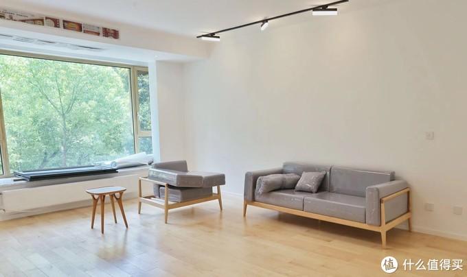 客厅,硬枫家具与地板