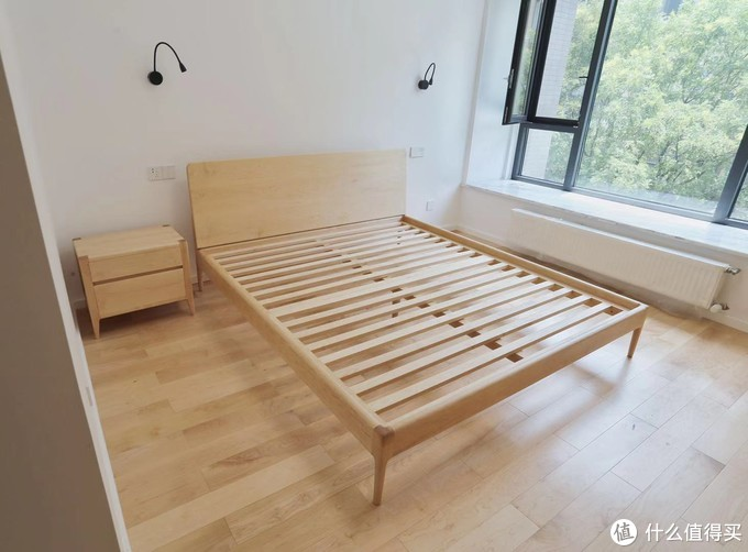 卧室,硬枫家具与地板