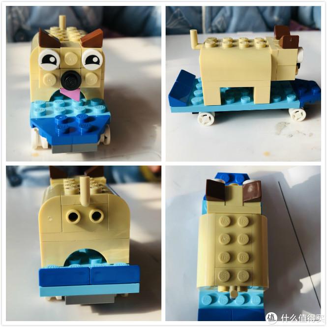 车来车往,南辕北辙—乐高Classic 10715多轮创意拼砌礼盒一玩到底
