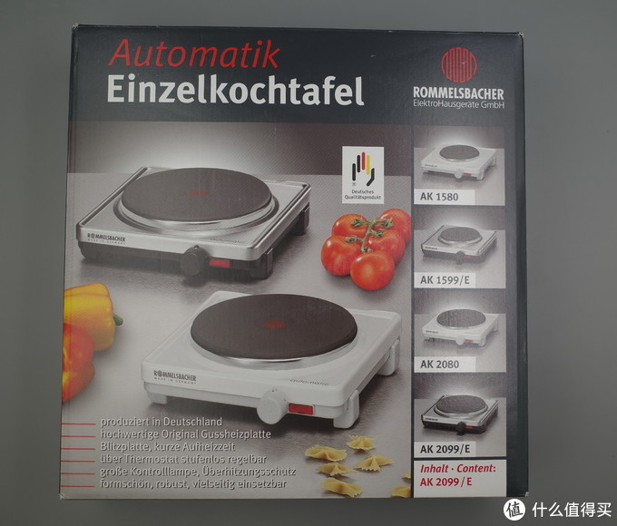ROMMELSBACHER AK 2099/E 电炉开箱晒单