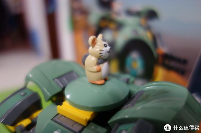 鼠年说鼠之仓鼠哈蒙德——年度最畅销的乐高之一