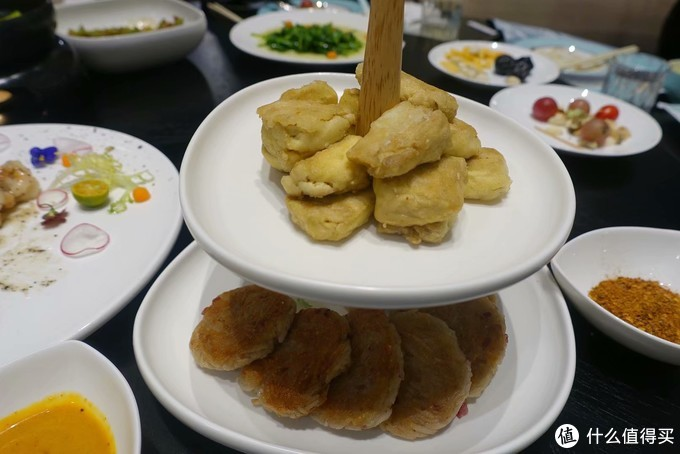 翠湖轩的烤豆腐