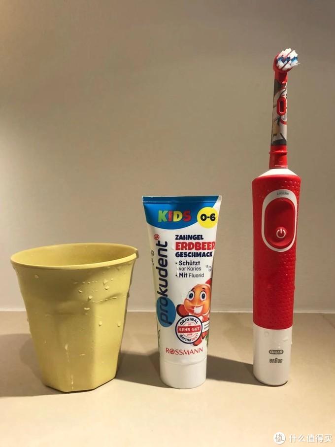 孩子刷牙的黄金组合