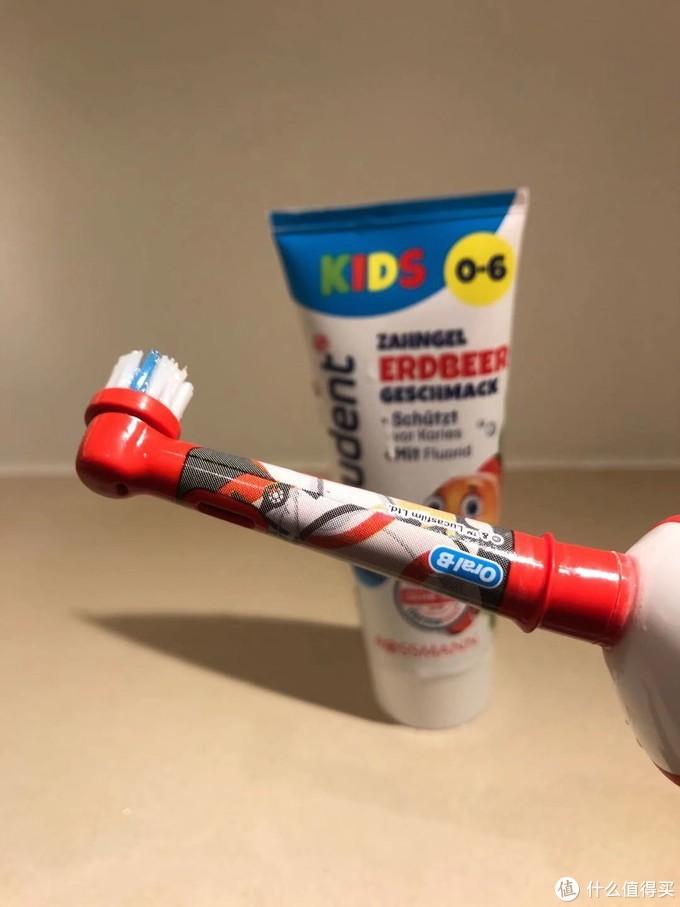 欧乐b儿童电动牙刷