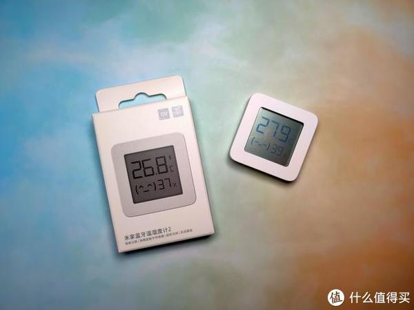 米家蓝牙温湿度计2开箱体验,让你的生活有温度。