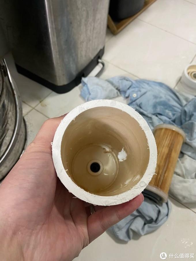 小米厨下式净水器三合一滤芯使用一年后更换拆除报告