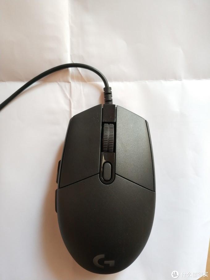 罗技G102有线游戏鼠标开箱体验