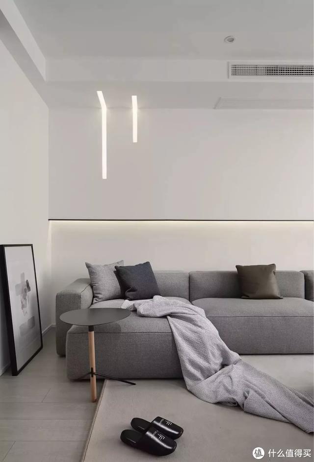"""这样的客厅最百搭,大白墙搭配软装""""美如画"""""""