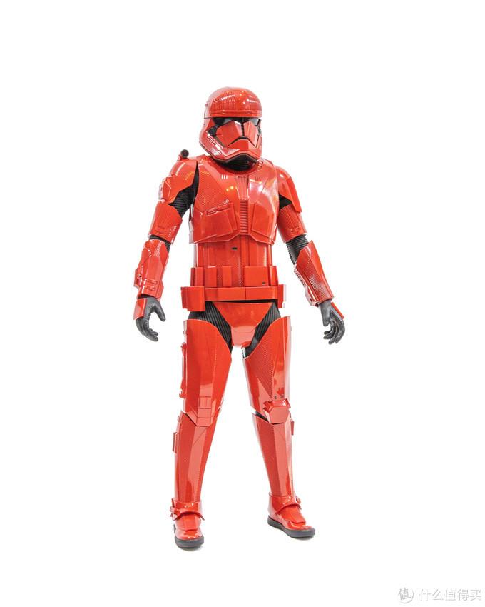 红色炮灰:Hot Toys 星球大战9西斯士兵1/6可动人偶
