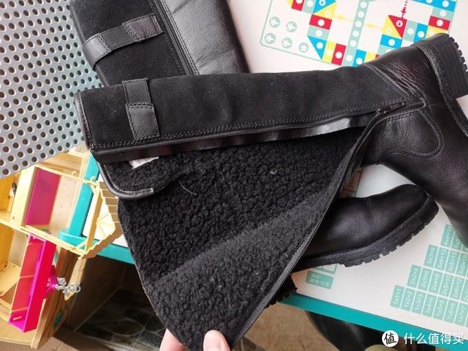 这两个冬天都在穿的两双中长筒靴分享-timberland和clarks