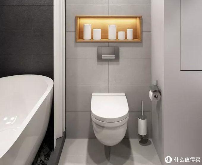 小户型卫生间要变大,这2点要注意,塞下浴缸不是问题!