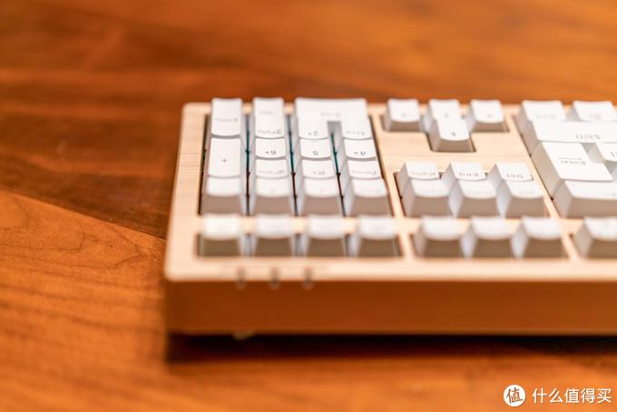 小键盘+额外4键功能区