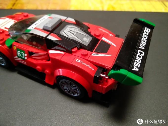 LEGO 75886-女车手,赛车上的风景线