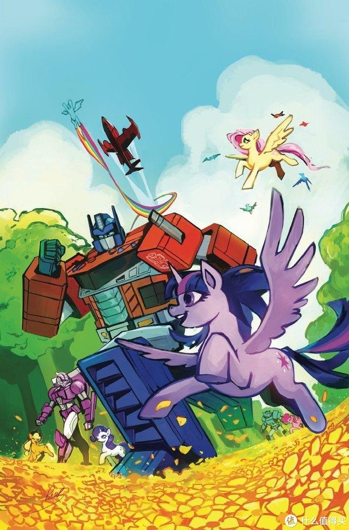赛博坦之家:IDW史诗级联动推出《我的彩虹小马/变形金刚》系列漫画