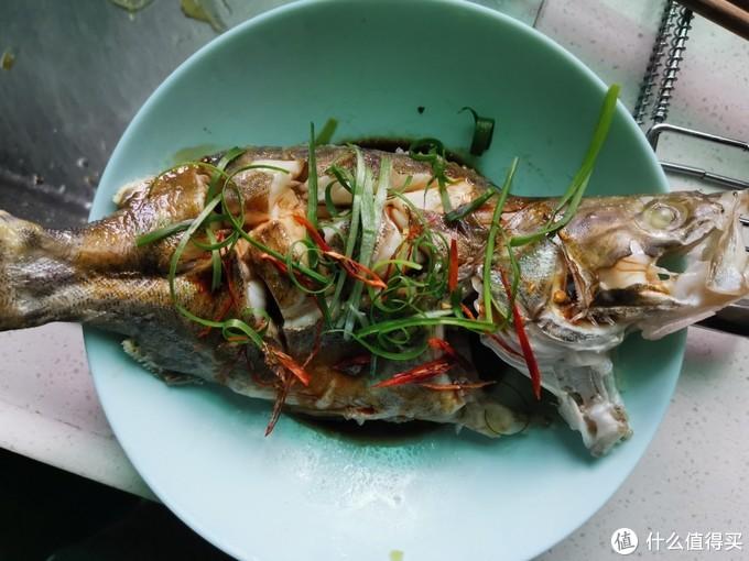 闭关厨艺修行——清蒸鳜鱼