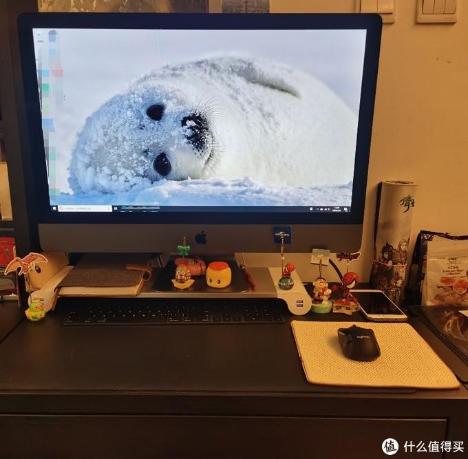 远程办公,买了个显示器支架,换了个鼠标