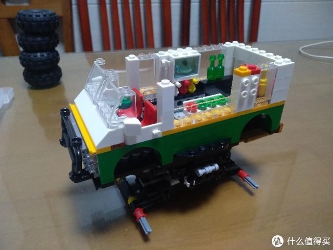 LEGO乐高创意三合一系列——31104怪物汉堡车A模式评测