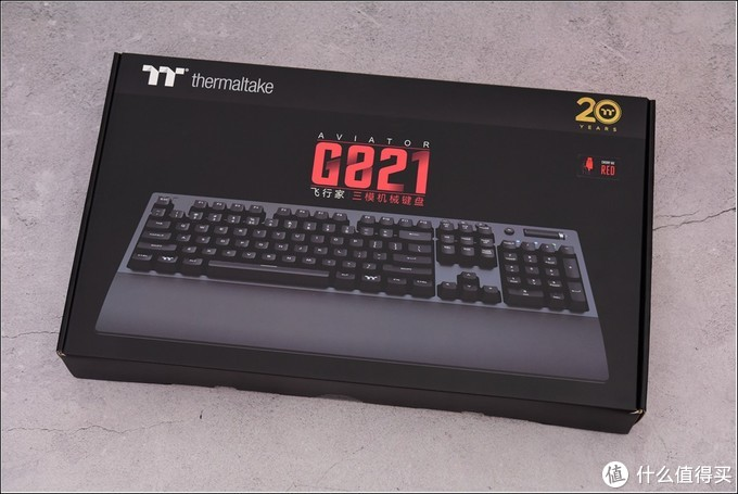 三模连接 极致手感—TT G821飞行家红轴键盘拆解评测