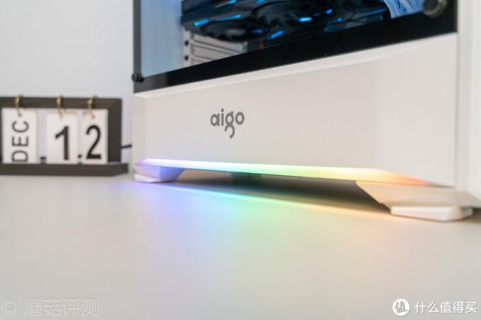 颜值高,灯效炫,用料足、爱国者(aigo)月光宝盒T20豪华版机箱 评测