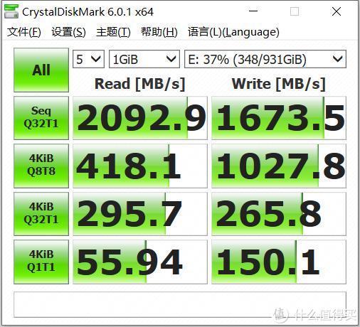 570超值价入手雷克沙1T固态硬盘,测到缓存外速度我才服了