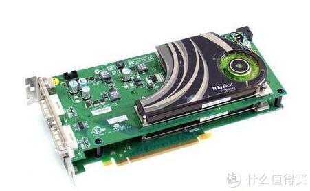 丽台GeForce 7950GX2正面图