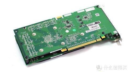 丽台GeForce 7950GX2背面图