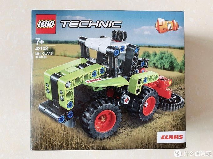 乐高42102开箱拼搭:农场除草机,2020年机械组超小SET