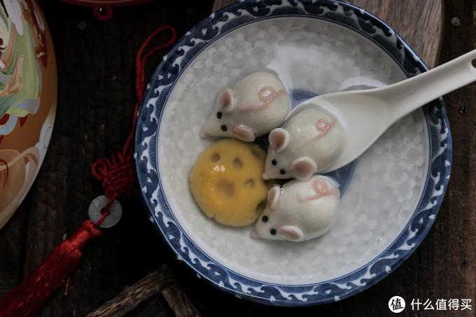 又是一年上元节:反正闲着也是闲着,不如自己动手做可爱的小老鼠汤圆吧~