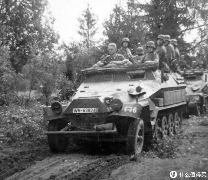 Sd.kfz. 251/1 Ausf.B型,1941年东线