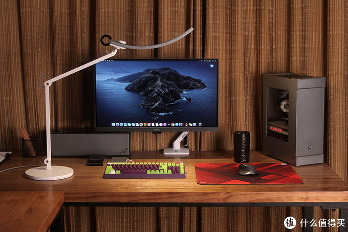 2019年度电脑装备折腾总结,晒晒我的两个主机同房桌面展示