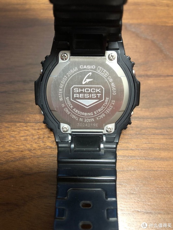 G-SHOCK GW-M5610背面