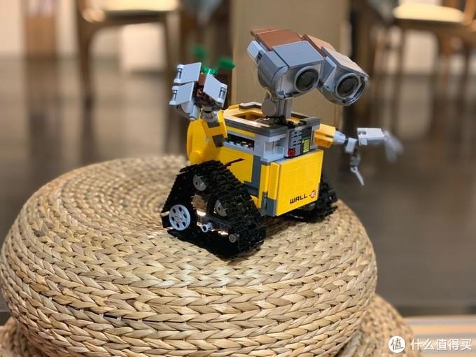 隔离期间,连压箱底的存货都不放过——LEGO 21303瓦力