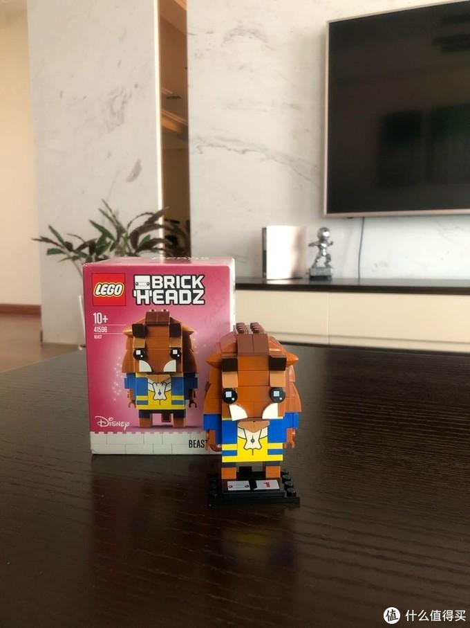 LEGO BRICKHEADZ乐高方头仔41596野兽