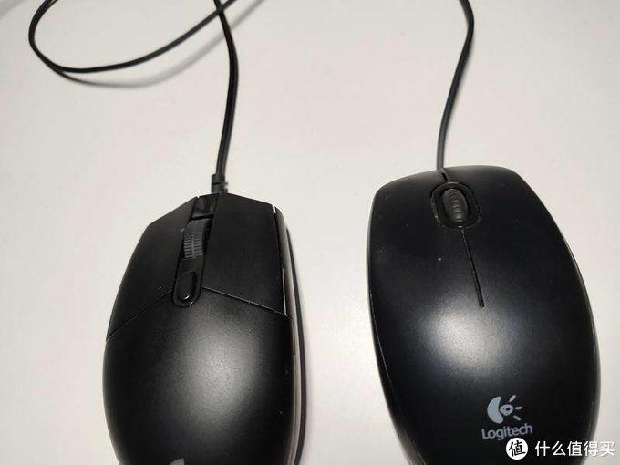 扎实的百元鼠标之选 - 罗技G102 (对比罗技M90)