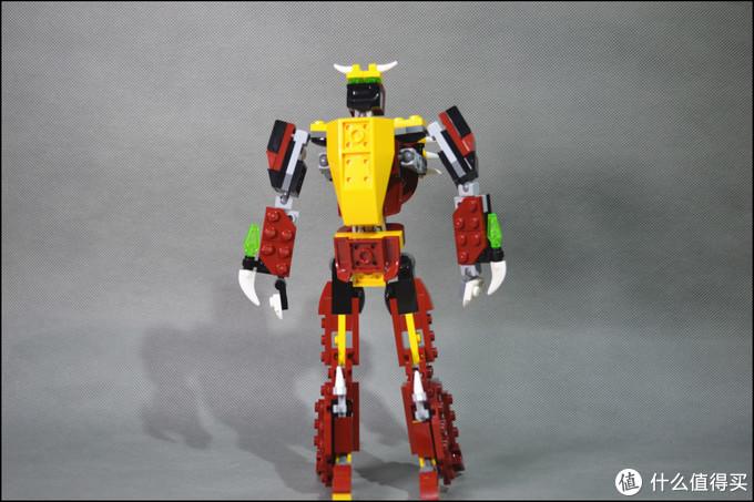 乐高积木31073(神秘怪兽-套内改二变机器人)