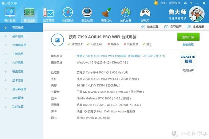 高颜值的ITX显卡、影驰GeForce RTX 2060 MINI显卡 评测