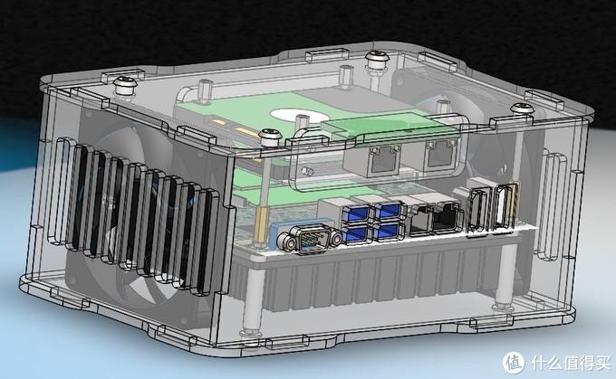 晒一个全新的I7 7600U双千兆3.5寸大小工控主板,非常适合软路由!