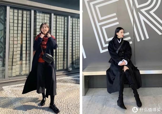 黑色大衣火了「新穿法」,气质又高级,杨幂、Lisa都爱了!