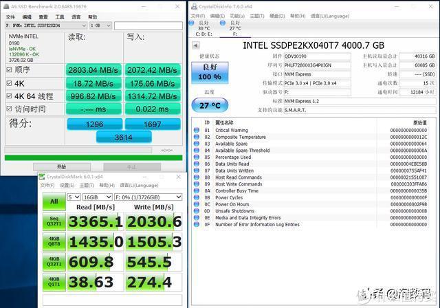 Intel P4500企业级固态硬盘都用上3D-TLC了,且读写速度惊人